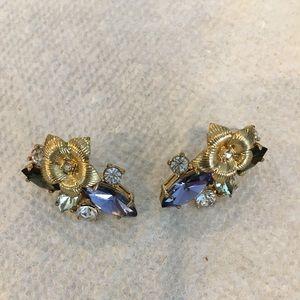 Ann Taylor pierced earrings.